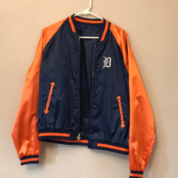 7149737cc Touch by Alyssa Milano Jackets & Coats | Womens Detroit Tigers ...